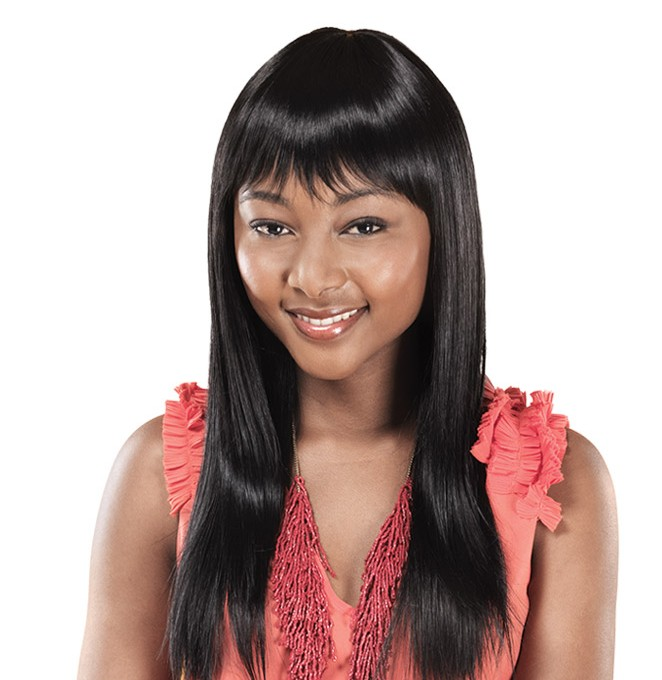 Heat-style the Thandi Wig